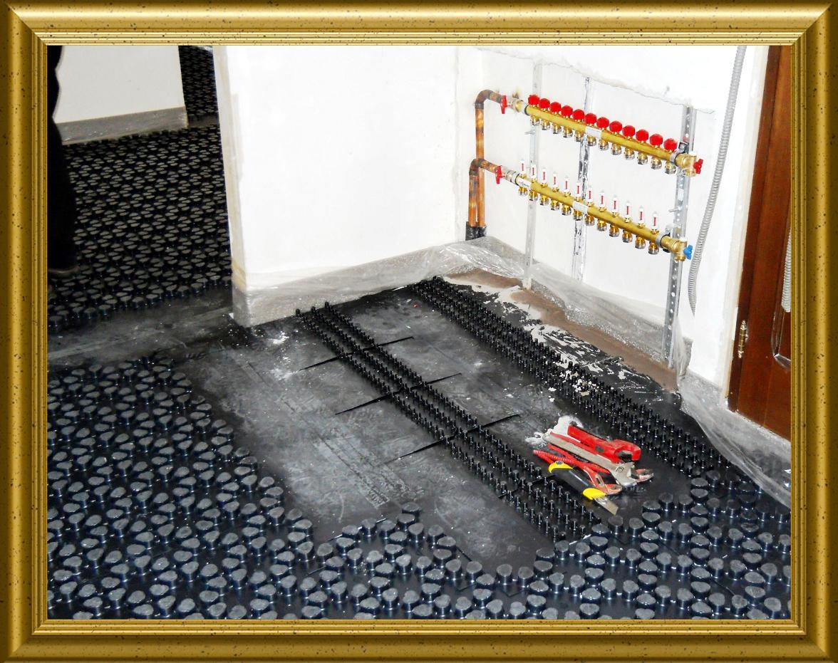 Impianto Di Riscaldamento A Pavimento Elettrico #4102  msyte.com Idee e foto di ispirazione per ...